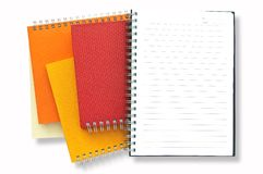 Stack Of Note Book Royalty Free Stock Photos