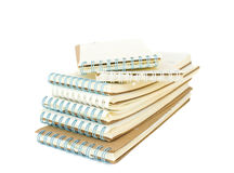 Stack of note book Royalty Free Stock Image