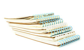 Stack of note book Stock Photo