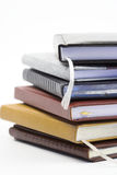 Stack of notebooks Royalty Free Stock Images