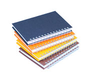 Stack of  notebooks Royalty Free Stock Photography