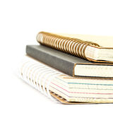 Stack of notebooks Stock Photography