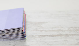 Stack of Notebooks Stock Image