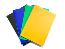 Stack of notebooks Stock Photos