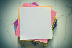 Stack of notes Stock Photos