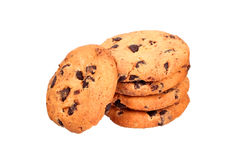 Stack of oatmeal cookies Stock Image