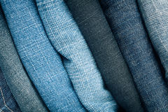 Free Stack Of Blue Jeans Royalty Free Stock Photos - 25720378