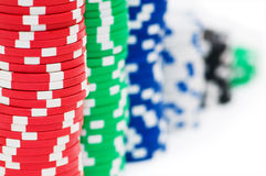 Free Stack Of Chips Isolated Stock Photos - 11723193