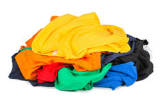 Stack Of Coloreds Stock Photo