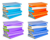 Stack Of Colorful Books. Stock Photos