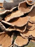 Stack Of Cork Royalty Free Stock Image