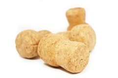 Stack Of Corks Royalty Free Stock Image