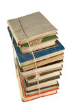 Stack Of Dusty Books Royalty Free Stock Image