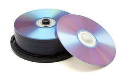 Free Stack Of Dvds Royalty Free Stock Images - 9027679