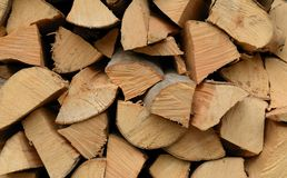 Free Stack Of Firewood Stock Photo - 23096350