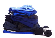 Stack Of Folded Clothes Royalty Free Stock Images
