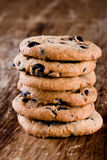 Stack Of Fresh Baked Cookies Royalty Free Stock Images