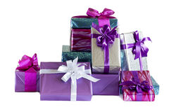 Free Stack Of Gift Boxes Royalty Free Stock Photo - 37599315