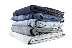 Free Stack Of Jeans Royalty Free Stock Images - 22752569