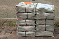 Free Stack Of Newspaper Stock Photo - 52478720