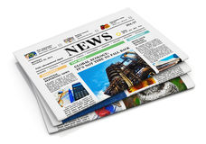 Free Stack Of Newspapers Royalty Free Stock Image - 27550256