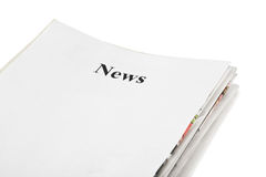 Stack Of Newspapers News Stock Images