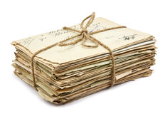 Free Stack Of Old Letters Royalty Free Stock Images - 29355199