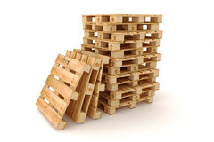 Free Stack Of Wooden Pallets. Stock Photography - 43422902