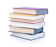 Stack of old antique books Royalty Free Stock Photography
