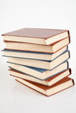 Stack of old antique books Stock Photography