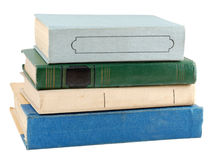 Stack of old book Stock Photos