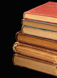 Stack of Old Books. Stack of six aged books Royalty Free Stock Images