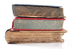 Stack of old books. Stock Photos