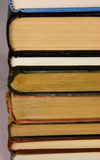 Stack of old books. A stack of old hardback books royalty free stock photography