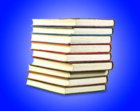 Stack of old books Royalty Free Stock Photos