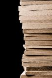 A stack of old books Stock Image