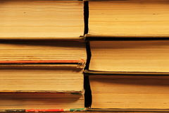 Stack of the old books Stock Images