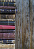 Stack of old books. Copyspace for your text Stock Images