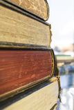 Stack of old books. Stock Photography