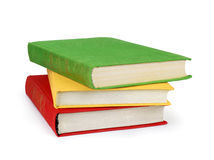 Stack of Old books stock photography