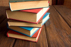 Stack of old books Royalty Free Stock Image