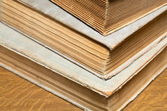 A stack of old books. Selective focus Royalty Free Stock Images