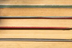 Stack of the old books. Books background Royalty Free Stock Photos
