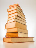 A stack of old books Royalty Free Stock Photo