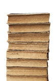 Stack of old books Royalty Free Stock Photo
