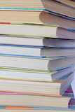 Stack old hardcover books. Image of stack old hardcover bound books Stock Photo