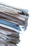 Stack of old paper Royalty Free Stock Photo