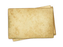 Stack old papers Royalty Free Stock Images