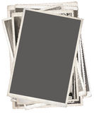 Stack of Old  Photography Royalty Free Stock Photos