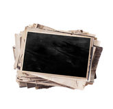 Stack of old photos Royalty Free Stock Image